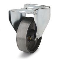 Колеса термостійкі з чавуну діаметр 80 мм з неповоротним кронштейном