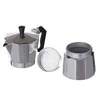 Гейзерная кофеварка на 6 чашек DOMOTEC DT-2906! Топ продаж