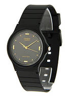 Годинник Casio - Classic MQ-24 Watch Black/Slim/Gold