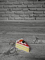 Анти-стрессовая игрушка «Сквиши-кусочек тортика»! Топ продаж
