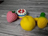 Анти-стрессовая игрушка «Сквиши-ананас»! Топ продаж