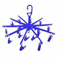 Вертушка с прищепками подвесная Big пластик, прищепки, вешалки, тремпели, плечики, вертушка с прищепками, вешалки