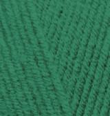 Пряжа для вязания Лана голд зеленая трава 118