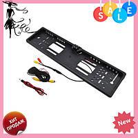Камера заднего вида рамка 16LED Black с подсветкой в рамке номерного знака! Топ продаж