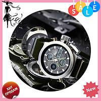Мужские наручные армейские часы AMST Watch | кварцевые противоударные часы черные! Топ продаж