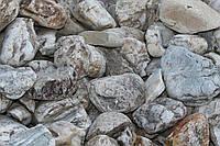 """Камень речной """"Тиса"""" белый """"окатыш"""""""