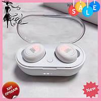 Беспроводные Bluetooth наушники JВL tws 5 белые | блютуз наушники | гарнитура! Топ продаж