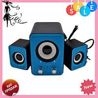 Голубые компьютерные колонки акустика IS 12 220v | акустические мощные колонки | музыкальная колонка! Топ