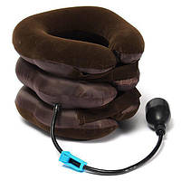 Надувная подушка для шеи Tractors for Сervical Spine с насосом! Топ продаж