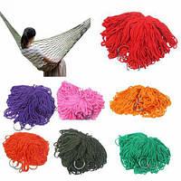 Гамак - сетка Сonvolves E05117 разные цвета, 270х80 см, полиэстер, для взрослых, гамак, гамак для дачи, подвесной гамак, гамак для сада