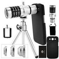 Объектив Zoom для телефона mobile telephoto lens 12x!Топ Продаж
