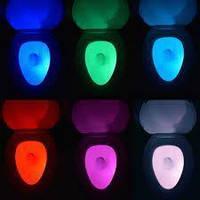 LED подсветка illumiBowl для унитаза с датчиком движения! Акция