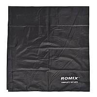 Покрывало ROMIX влагостойкое 110 х 160 Черное КОД: RH32-М B