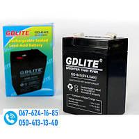 Аккумулятор GDLITE GD-645 (6V4.0AH) Батарея для весов, фонарей, источник питания! Акция