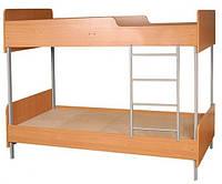 2-ярусная кровать на металлическом каркасе