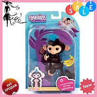 Интерактивная ручная обезьянка Fingerlings Happy Monkey Bella ЧЕРНЫЙ! Акция