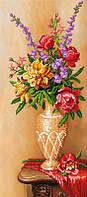 "Картина с бисером SI-102 ""Цветы в вазе"""