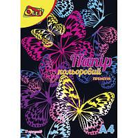 Бумага цветная А4 11л 11 цветов
