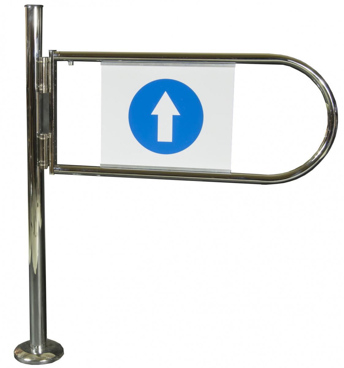 Флажок входной METAL-POZ двухсторонний