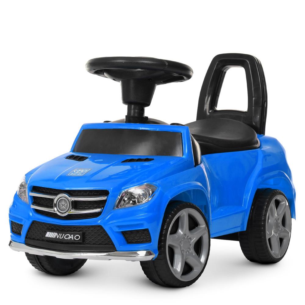 Каталка-толокар  M 4232-4 синий Гарантия качества Быстрая доставка