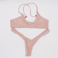 Купальник раздельный женский Lux4ika S Розовый  КОД: nr1-307