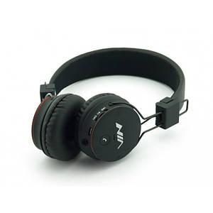 Бездротові Bluetooth-Навушники з MP3 плеєром NIA-X2 Радіо блютуз Чорні