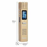 Диктофон аккумуляторный цифровой NOYAZU X1 8 ГБ (YYFGHXN197FYH) КОД: YYFGHXN197FYH