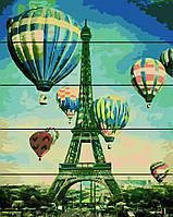 """Картина по номерам Rainbow Art на деревянном панно """"Воздушные шары"""" 40х50см RA0134-RA"""