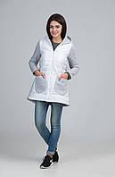 Молодежная стеганная куртка на синтепоне