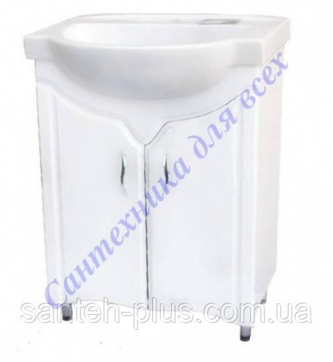 Тумба для ванной комнаты Дакар Т1/1 с умывальником Акцент 65