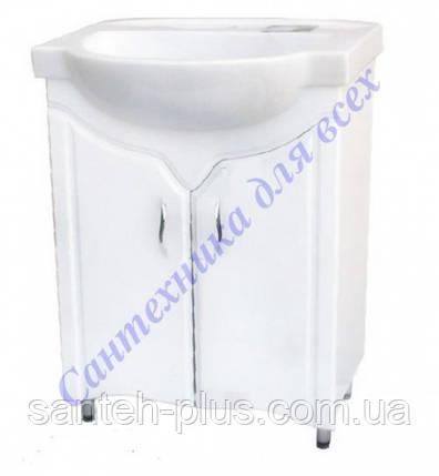 Тумба для ванной комнаты Дакар Т1/1 с умывальником Акцент 65, фото 2