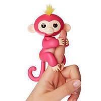 Интерактивная ручная обезьянка Fingerlings Happy Monkey Bella (red)! Акция