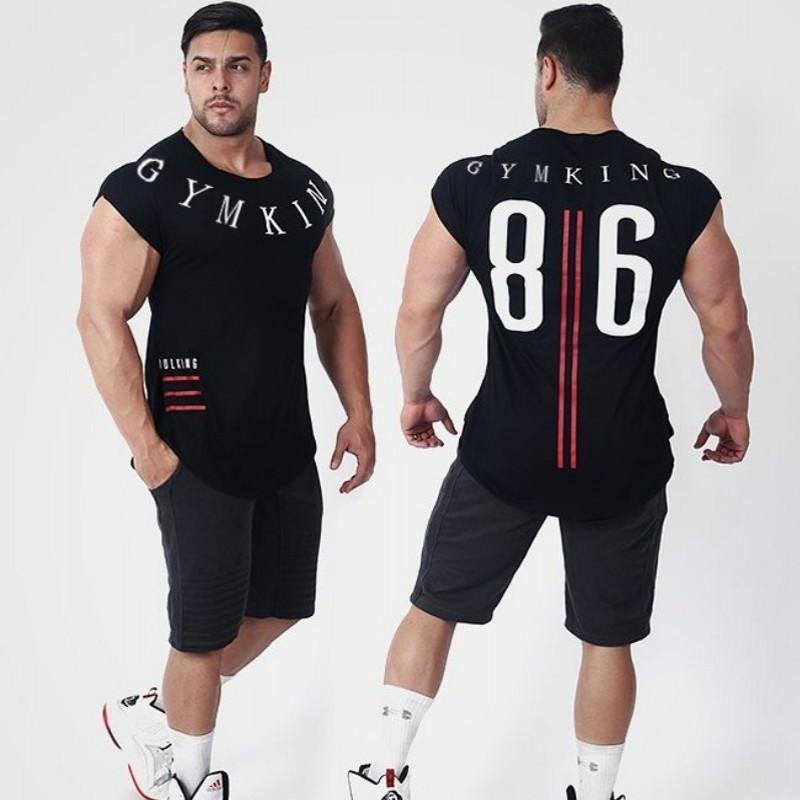 """Мужская футболка """"GYM KING"""""""