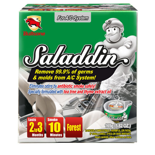 Очиститель кондиционера Bullsone Saladdin / ёмкость 165 гр - Автокар в Киеве