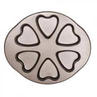 """Форма для выпечки Stenson """"Сердце"""" MH-0491 металл, 30х25,5х3 см, формы для выпечки, формы для выпекания, форма для запекания"""