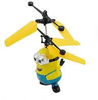 Игрушка миньон вертолет HJ-388 веселая игрушка для детей с подсветкой! Акция