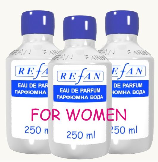 Refan наливная парфюмерия Женская 250 мл