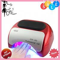 Гибридная CCFL+LED лампа 48W Beauty nail K18 / сушилка для ногтей! Акция