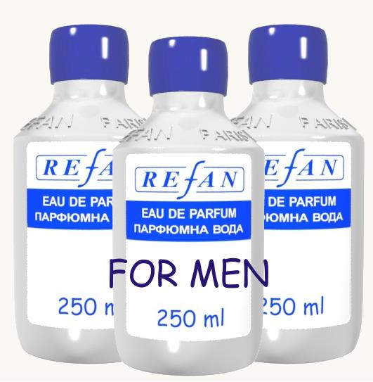 Refan наливная парфюмерия Мужская 250 мл