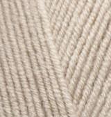 Пряжа для вязания Лана голд 585 светло-бежевый