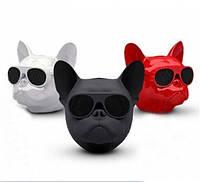 Собака колонка беспроводная Bluetooth S3 dog «CoolDog Французский Бульдог» / Колонка aerobul! Акция
