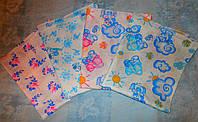 Пеленки для новорожденных из ситца, разные расцветки