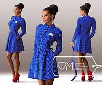 Платье женское электрик Платочек SD/-875