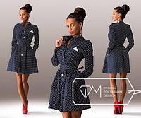 Платье женское чёрное Платочек SD/-875