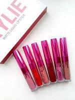 Набор помады Kylie Limited Edition With Every Purchase 6 штук розовый! Акция
