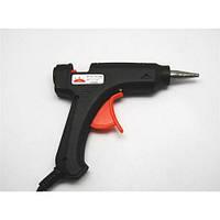 Клейовий пістолет маленький Carnation, чорний, для стрижень 11 мм, електроінструмент для дому, кріпильний інструмент, пістолет клейовий, інструмент