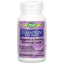 """Экстракт витекса Nature's Way """"Femaprin Vitex Extract"""" для нормализации менструального цикла (60 капсул)"""
