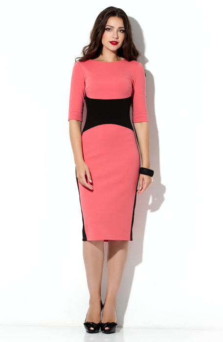 Трикотажное деловое платье от Lusien UA 44, фото 1