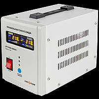 ИБП с правильной синусоидой LogicPower LPY-PSW-500VA+(350W)5A/10A 12V для котлов и аварийного освещения