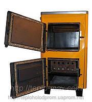 Котёл 10П «Огонек» для твёрдого топлива с варочной чугунной плитой. Купить в Харькове с доставкой по Украине